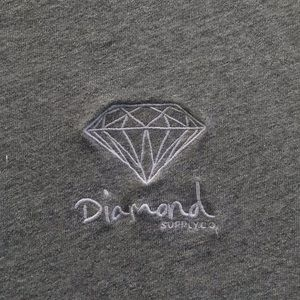 Diamond Supply Co. Grey T-Shirt